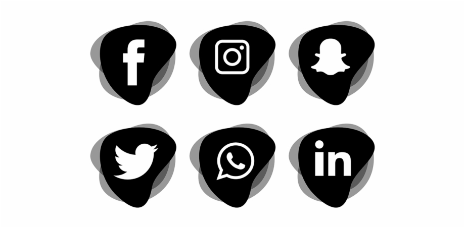 Social media icons vector clipart banner Social Media Icons Set Icon Png And Vector - Social Media ... banner