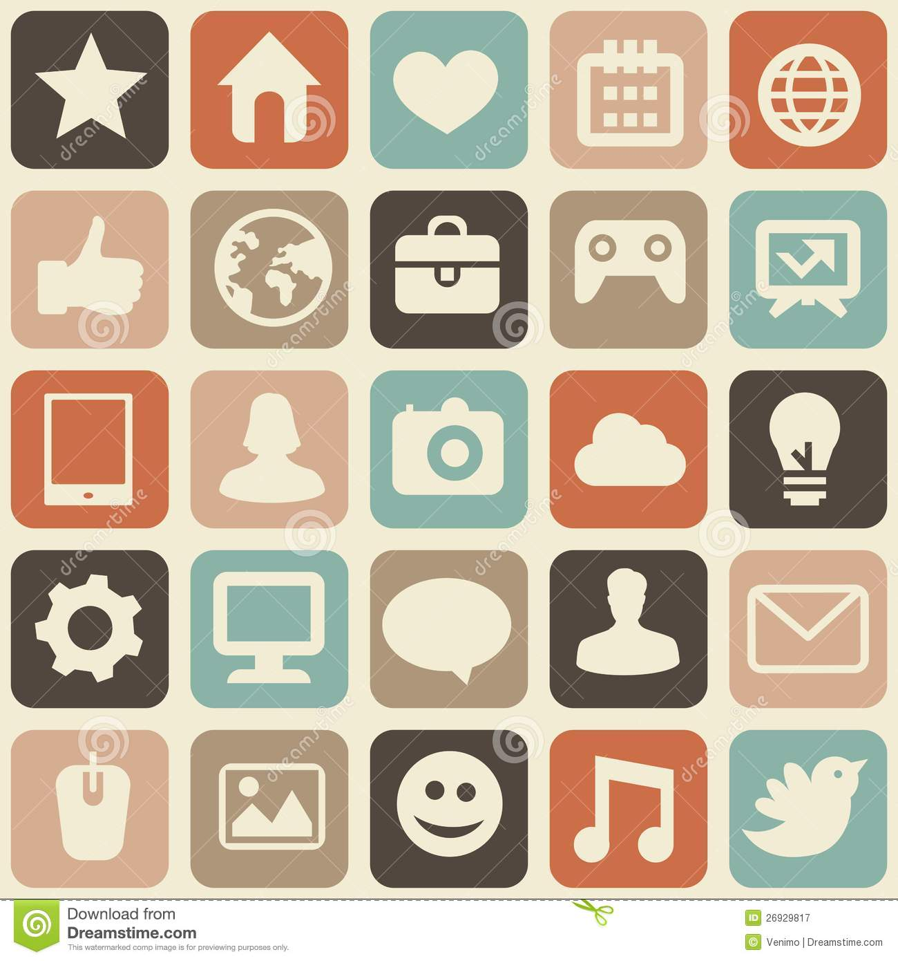 Social media logo clipart jpg royalty free Vector Seamless Pattern With Social Media Icons Royalty Free Stock ... jpg royalty free