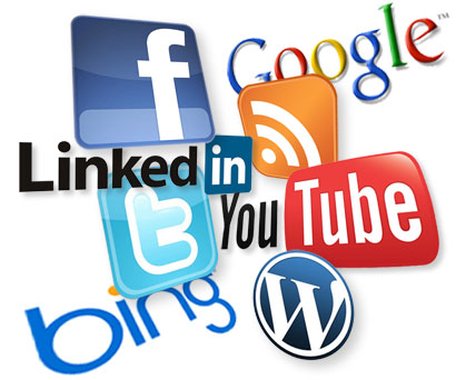 Social media marketing clipart transparent stock Social Media Logo Clipart - Clipart Kid transparent stock