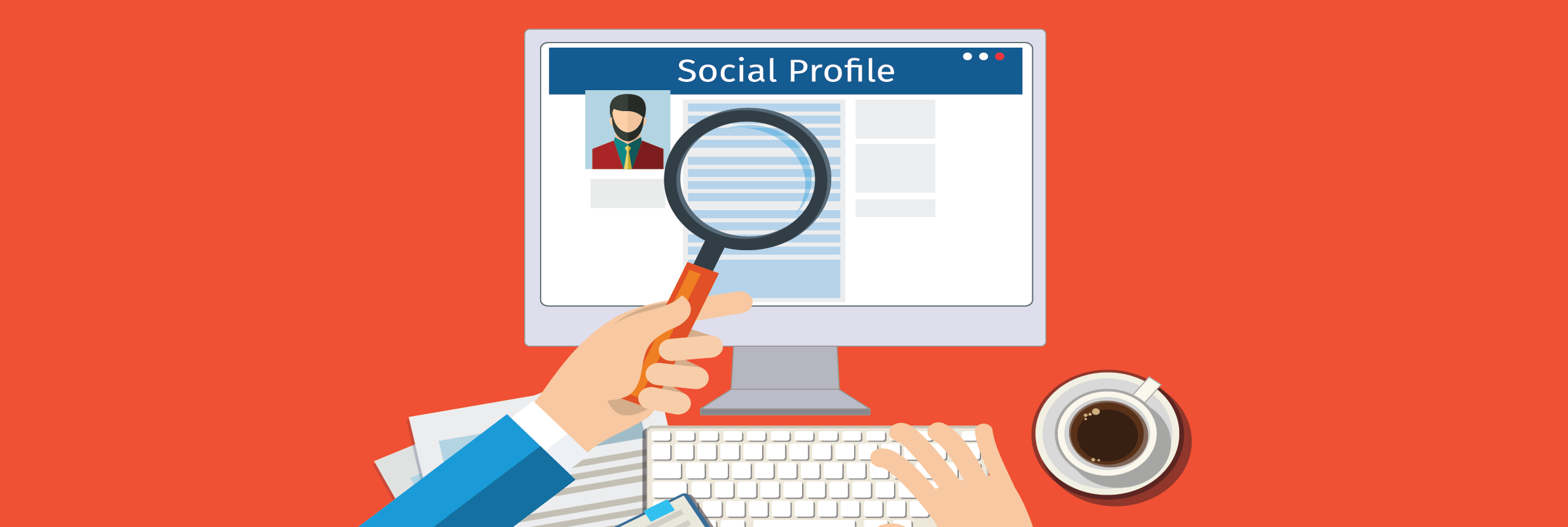 Social media profile clipart jpg stock Social Media Archives - Burnetts Staffing jpg stock