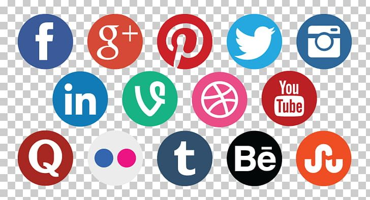 Social networking sites icons clipart clip royalty free Social Media Marketing Computer Icons Social Networking ... clip royalty free