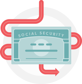 Social security clipart svg stock Social Security Disability - ACHA svg stock