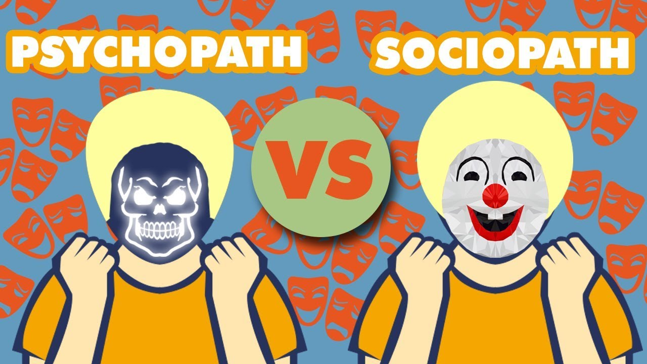 Sociopath clipart image transparent library PSYCHOpath vs SOCIOpath image transparent library