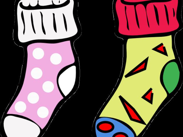 Socks cartoon clipart graphic transparent download Socks Clipart Same Sock - Socks Clipart , Transparent ... graphic transparent download