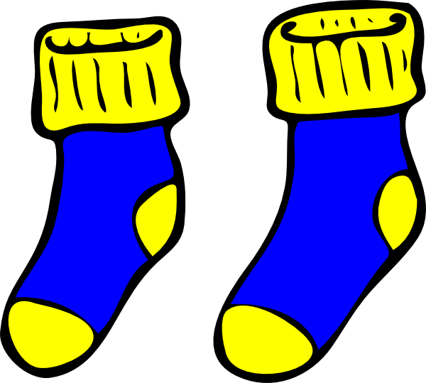Socks clipart png royalty free library Clip Art Yellow Socks Clipart | Clipart Panda - Free Clipart ... png royalty free library