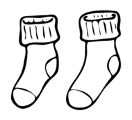 Socks clipart black and white clip download Socks clipart black and white 6 » Clipart Portal clip download