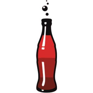 Soda glass clipart