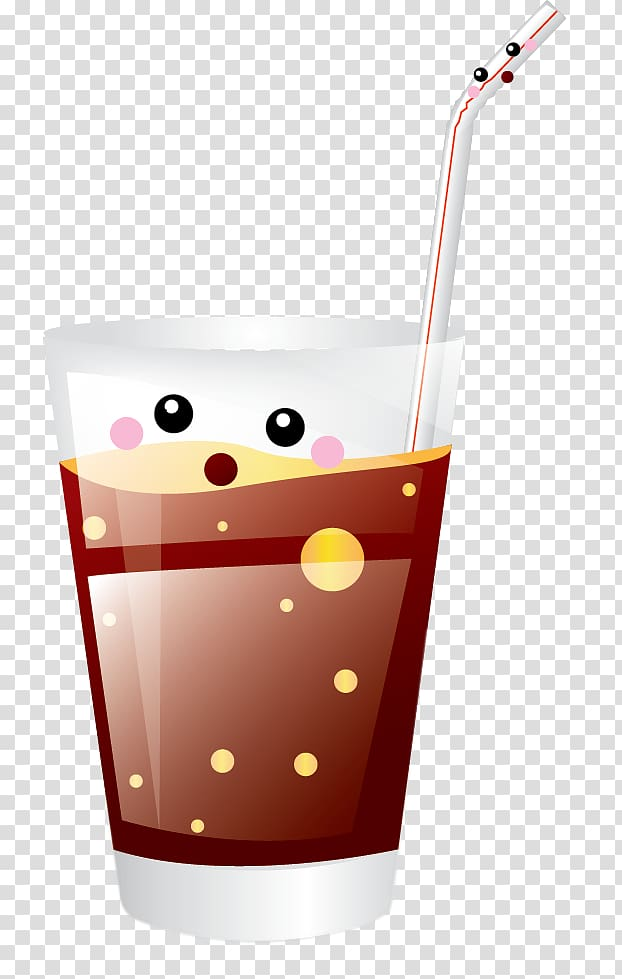 Soft drink Carbonated water , Soda Glass transparent ... image freeuse library