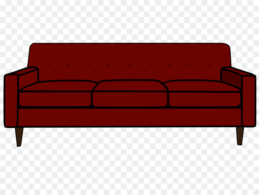 Bed Cartoon clipart - Couch, Furniture, Line, transparent ... png freeuse library
