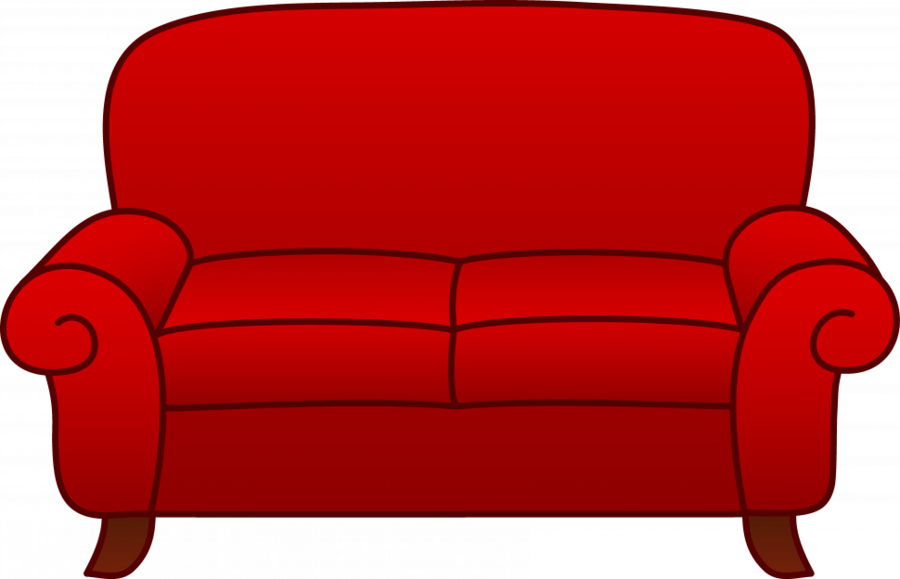 Sofa bed clipart black and white Bed Cartoon clipart - Couch, Furniture, Drawing, transparent ... black and white