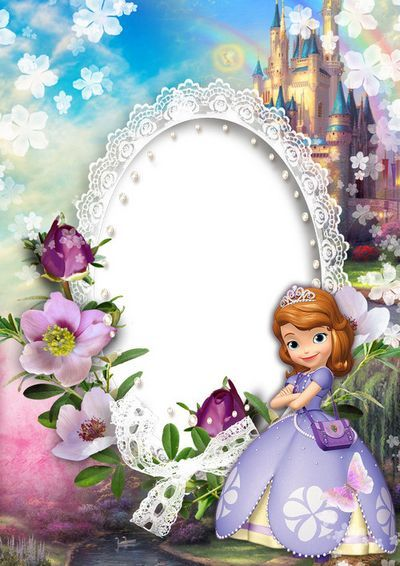 Sofia the first frame clipart svg black and white stock Pin by Sylvia Garza on Sofia the first   Princess sofia ... svg black and white stock