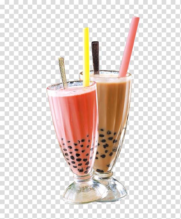 Soft drinks and milk clipart graphic transparent Two glasses of milkshakes, Juice Milkshake Bubble tea Soft ... graphic transparent
