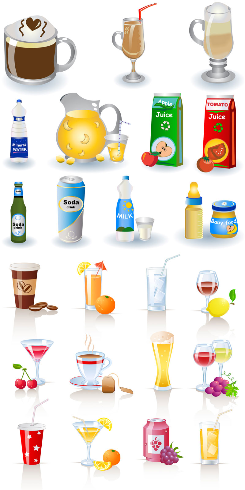 Soft drinks and milk clipart clip royalty free download Free Drinks Cliparts, Download Free Clip Art, Free Clip Art ... clip royalty free download