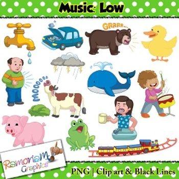 Music Concepts: Low sounds Clip art   Music Teaching Unit ... clip transparent library
