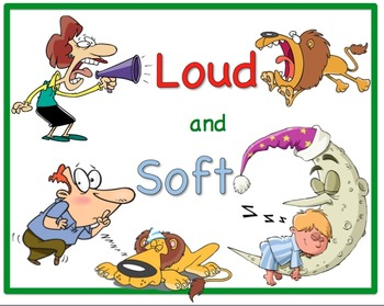 Loud And Soft Sounds Worksheets & Teaching Resources   TpT graphic stock