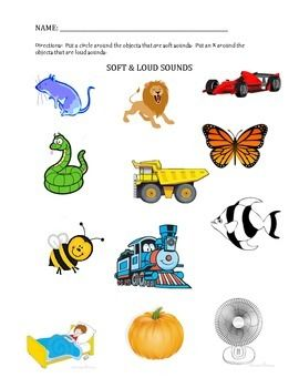 Loud & Soft Sounds Assessment   Elementary Music Resources ... jpg transparent download