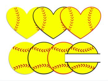 Softball background clipart image black and white stock Softball Clipart   Softball   Softball clipart, Softball ... image black and white stock