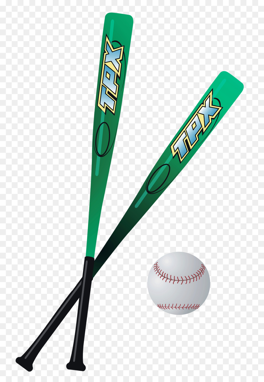 Softball bat and ball clipart picture black and white library Cricket Bat clipart - Softball, Cricket, Ball, transparent ... picture black and white library