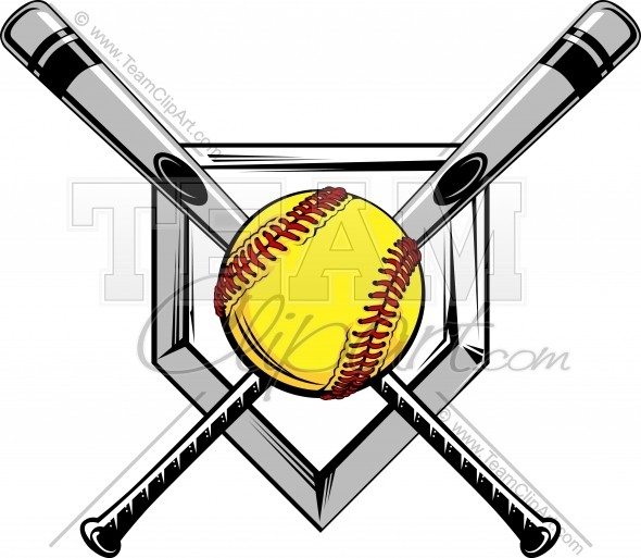 Softball bat and ball clipart vector stock Softball Bat Drawing at PaintingValley.com | Explore ... vector stock