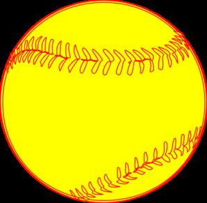 Softball birthday clipart clipart transparent Softball Clip Art | Baseball/softball | Softball, Softball ... clipart transparent