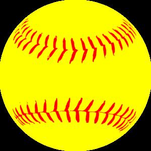 Softball birthday clipart image stock Yellow Softball clip art - vector clip art online, royalty ... image stock