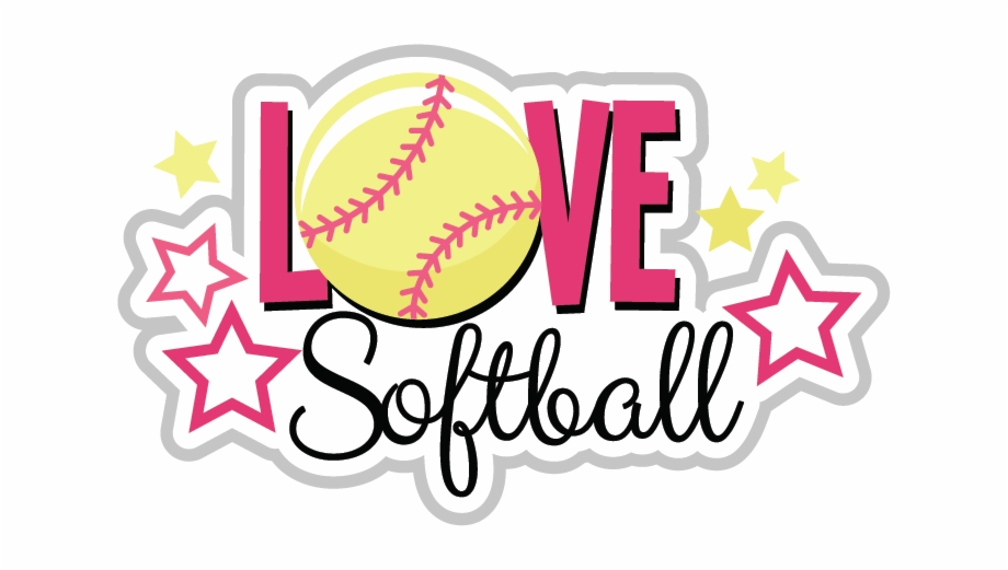 Love Clipart Softball - Love Softball Free PNG Images ... image transparent download