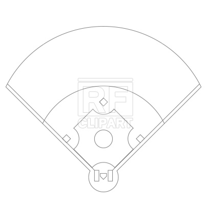 Free Softball Field Diagram, Download Free Clip Art, Free ... graphic free stock
