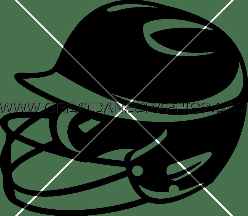 Softball helmet clipart banner freeuse library Softball Helmet | Production Ready Artwork for T-Shirt Printing banner freeuse library