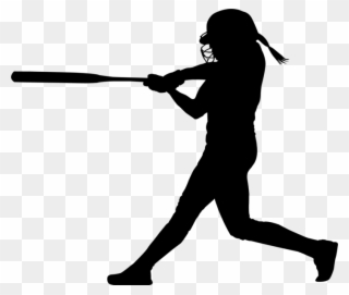 Softball hitter clipart image library stock Pin Softball Clipart Transparent - Batting Softball Player ... image library stock