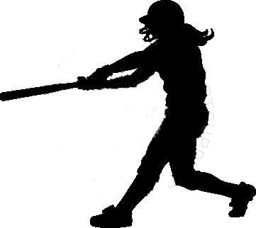 Softball hitter clipart svg free stock Girls Softball Clipart | Free Download Clip Art | Free Clip ... svg free stock