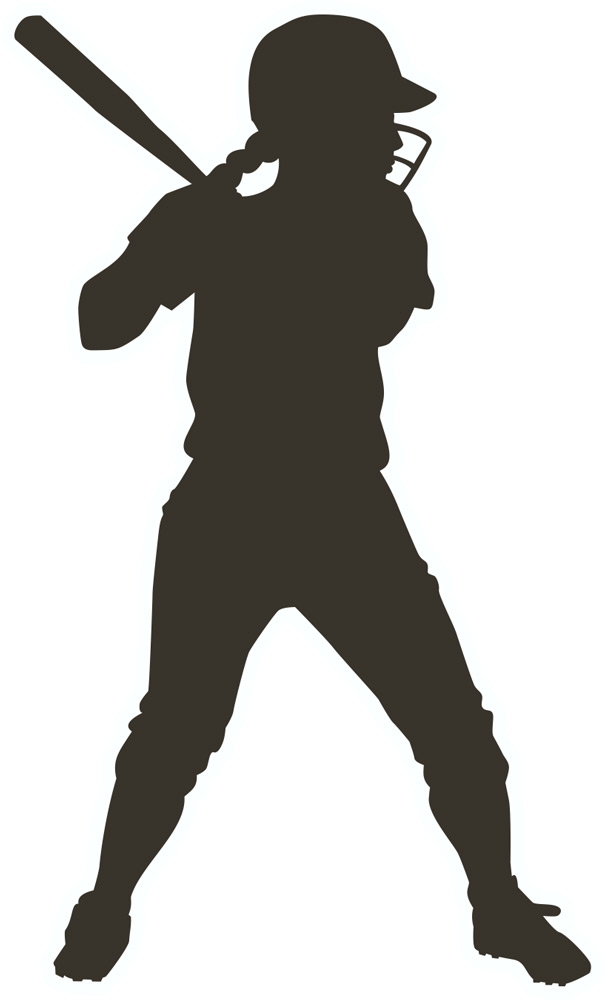 Softball hitter clipart picture freeuse stock Free White Softball Cliparts, Download Free Clip Art, Free ... picture freeuse stock