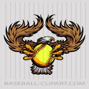 Softball Mascot Clipart Images Archives - Baseball-Clipart.com vector free stock