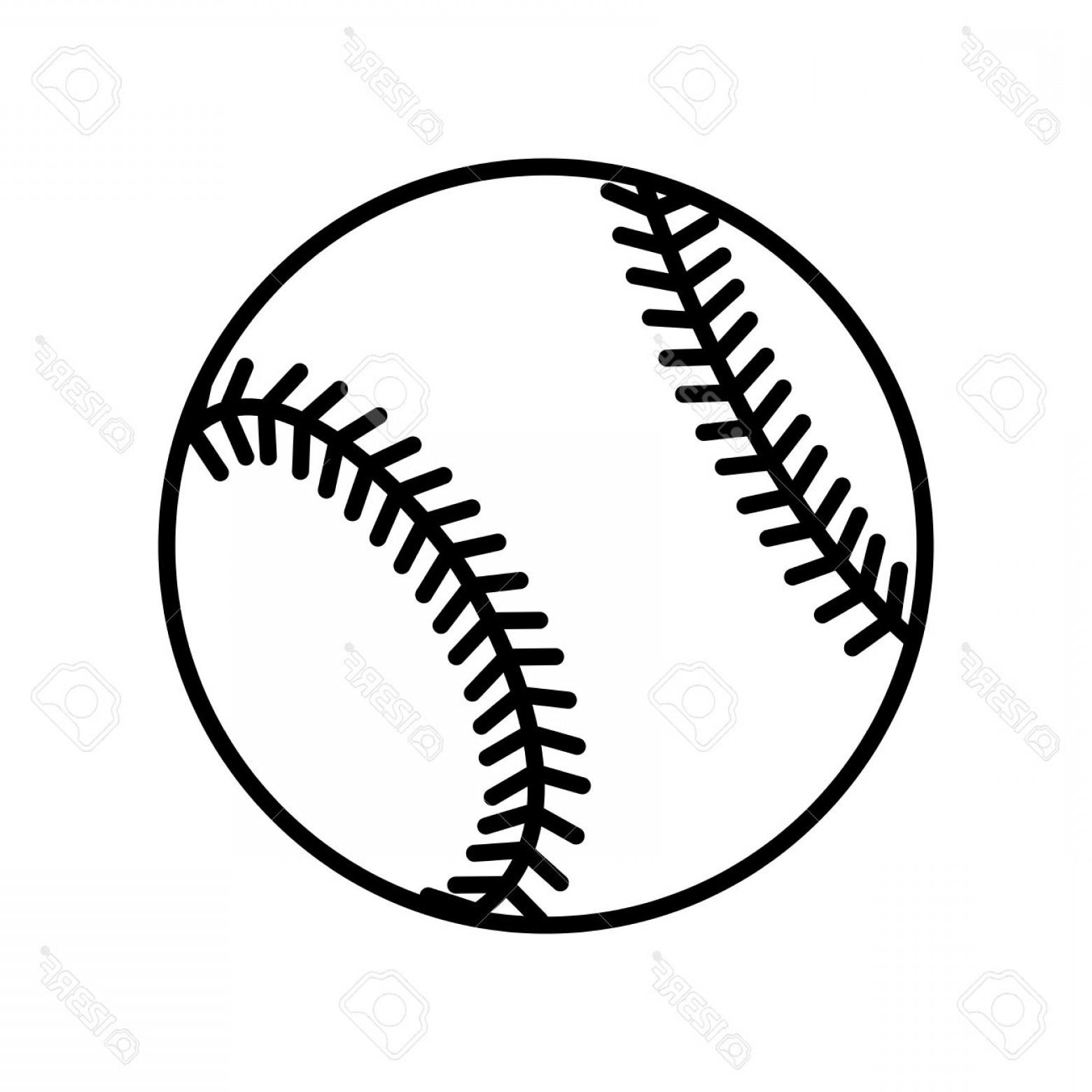 Softball stitches vector clipart jpg transparent stock Photostock Vector Baseball Ball Sign Black Softball Icon ... jpg transparent stock