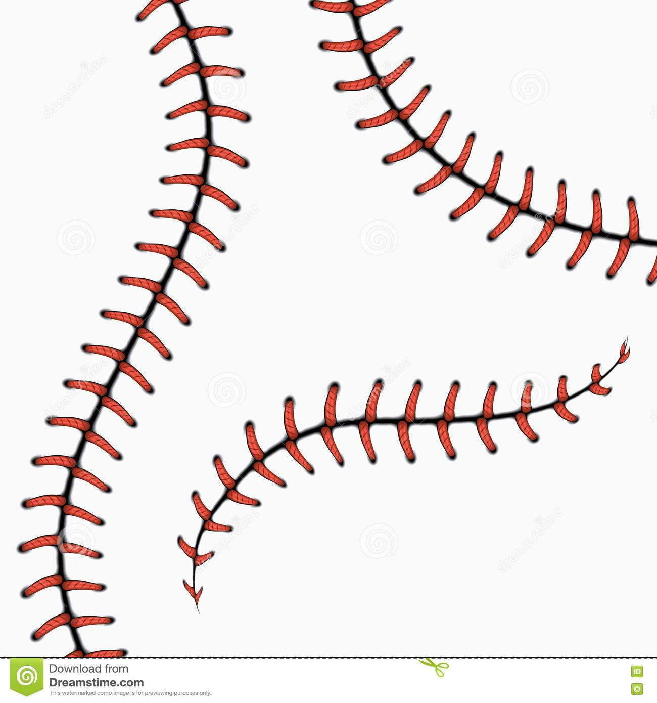 Softball threads clipart 1 » Clipart Portal image black and white library