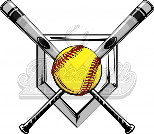 Softball with bat and glove clipart vector freeuse download Softball Balks And Bat Drawing | Free download best Softball ... vector freeuse download