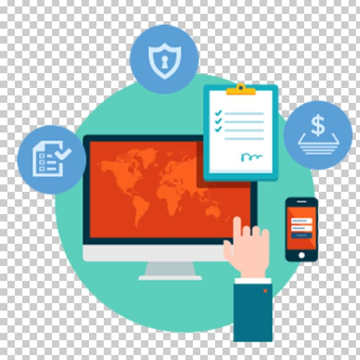 Computer Software Company E-commerce Organization Management ... graphic