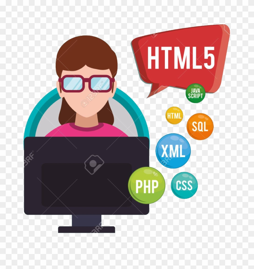 Software dev clipart svg library Web Development - Software Developer Clipart (#980198 ... svg library