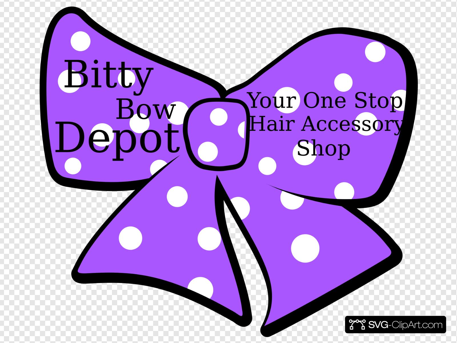 Sogan clipart clipart free download Bow With Polka Dots, Company Name And Slogan Clip art, Icon ... clipart free download