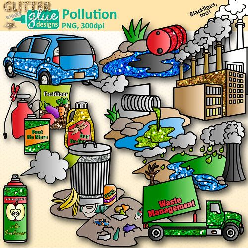 Soil pollution clipart graphic library Pollution Clip Art: Earth Conservation of Land Graphics ... graphic library