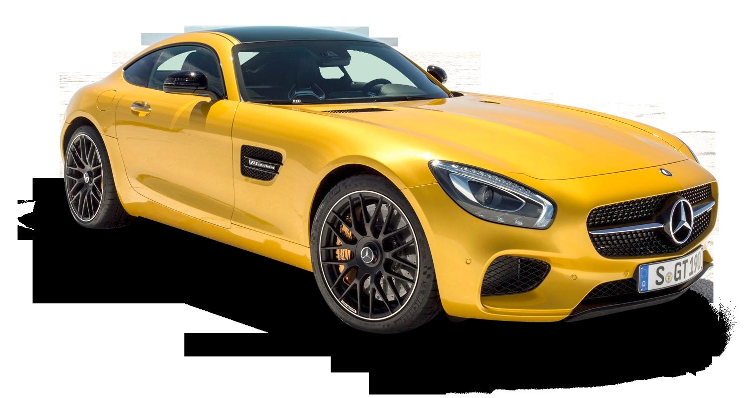 Solar car clipart vector transparent download Yellow Mercedes AMG GT Solarbeam Car PNG Image - PurePNG   Free ... vector transparent download