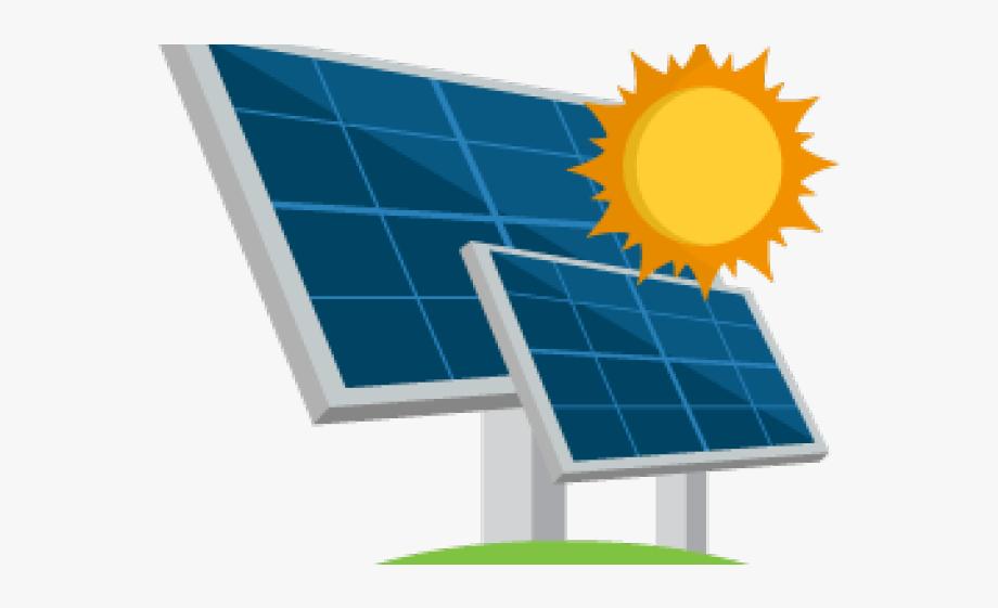 Solar energy clipart vector royalty free download Electrical Clipart Solar Electricity - Clipart Solar Panel ... vector royalty free download