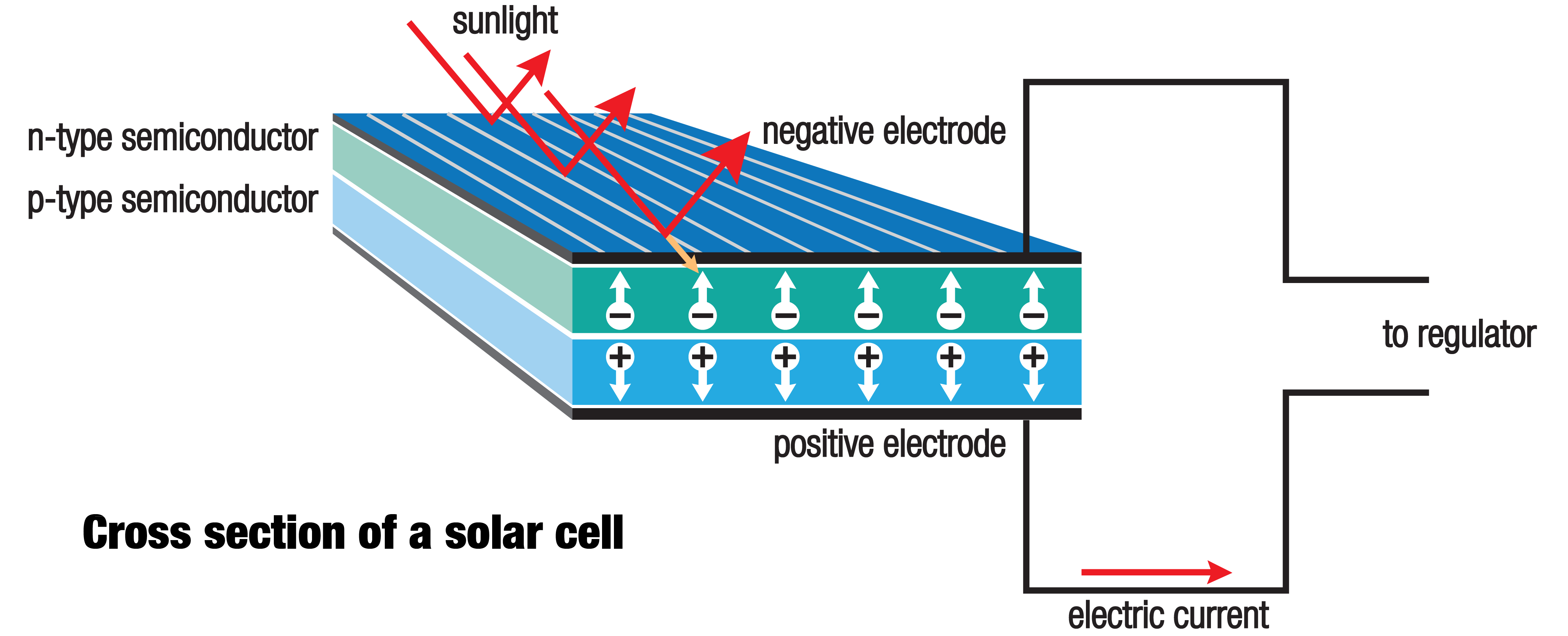 Solar panels and money clipart png royalty free Animated Infographic: How Solar Panels Work png royalty free
