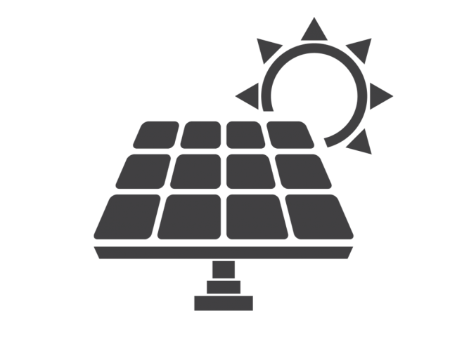 Solar panels and money clipart banner black and white library Biomass boiler installer   Solar solutions and energy storage in Ireland banner black and white library