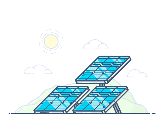 Solar panels and money clipart banner transparent download Distributed Solar Cloud   ENACT systems Inc. banner transparent download