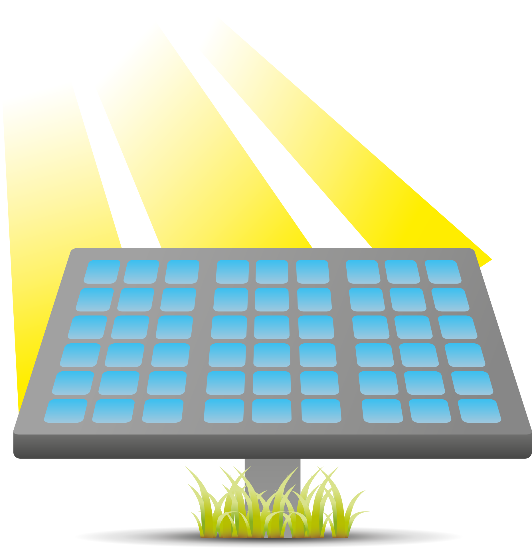 Solar sun clipart clip art freeuse stock Solar Panels Solar energy Solar power Solar cell Clip art - sun png ... clip art freeuse stock