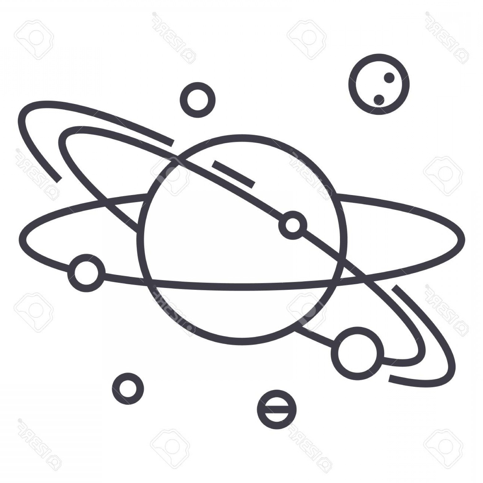 Solar system cartoon black and white clipart graphic free library Solar System Cartoon Drawing | Free download best Solar ... graphic free library