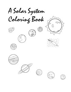 Solar system clipart kindergarten graphic transparent download The Planets in Solar System Coloring Pages (page 4) - Pics about ... graphic transparent download