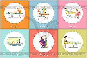 Solarium clipart picture freeuse download Tanning Spa Salon Tan Gaining in Solarium - vector clipart picture freeuse download