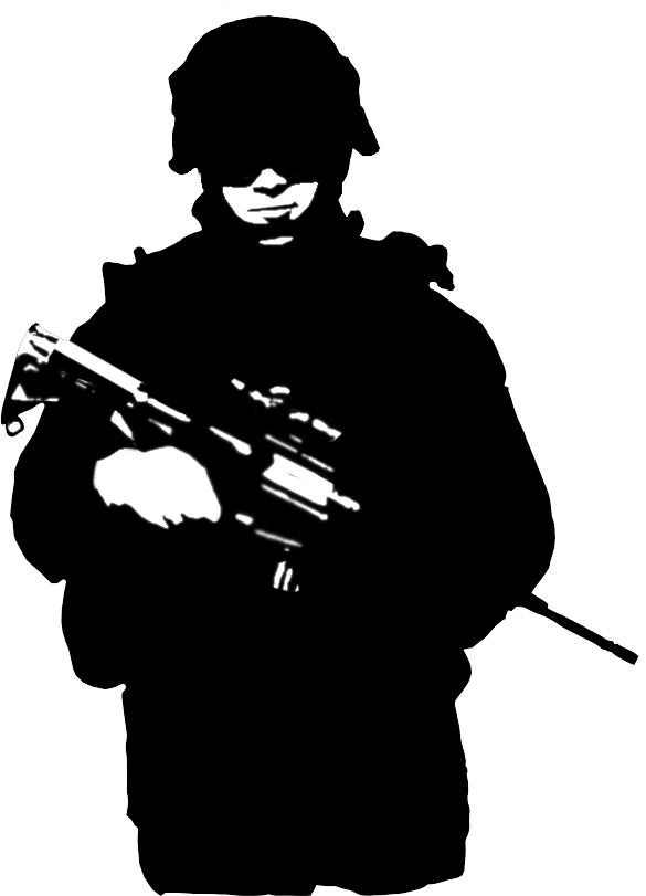 Soldier in someone house clipart image freeuse soldier silhouette - Google Search | D-Now | Pinterest | Soldier ... image freeuse