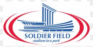 Soldier field clipart banner black and white How To Buy - Soldier Field Chicago Logo Clipart - Full Size ... banner black and white